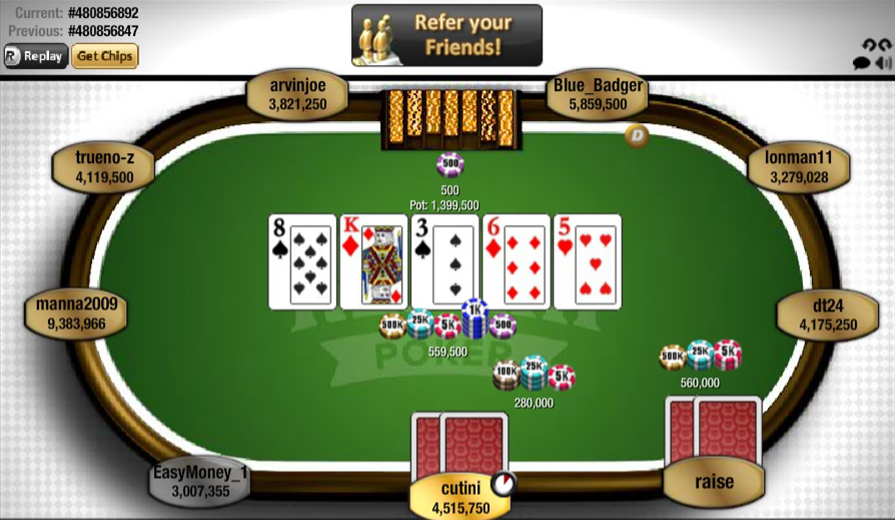 Texas Holdem Poker Online Free Download Chemplus